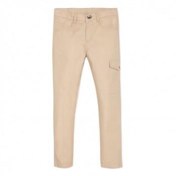 Pantalon Toile Beige
