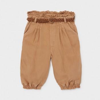 Pantalon caramel Ecofriends bébé fille