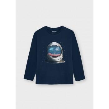 Tee shirt cosmonaute garçon
