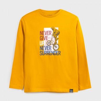 Tee Shirt Jaune Rider Junior
