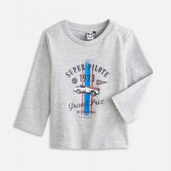 Tee Shirt gris Bébé Garçon