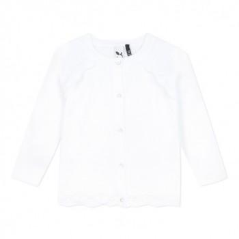 Cardigan Blanc