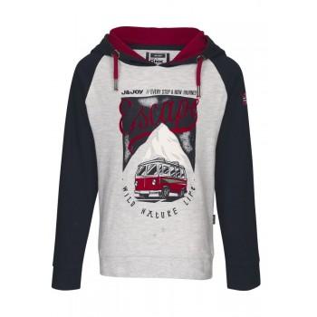 Tee Shirt J&Joy bicolore Van
