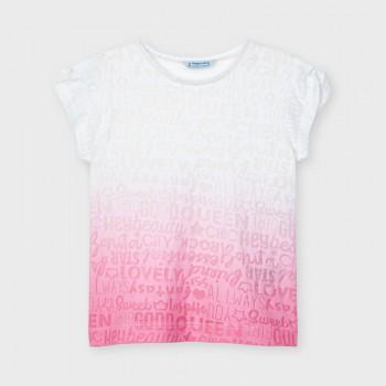 Tee Shirt camélia fille
