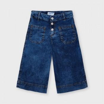 Pantalon culotte jean fille