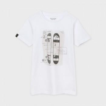 T-shirt Ecofriends blanc...