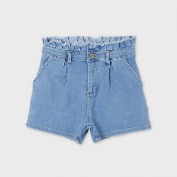 Short en jean taille haute...