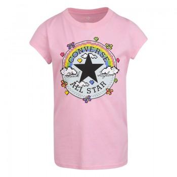 Tee Shirt rose Converse