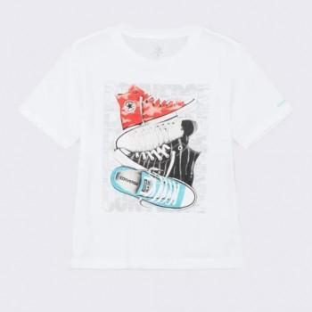Tee Shirt blanc Converse