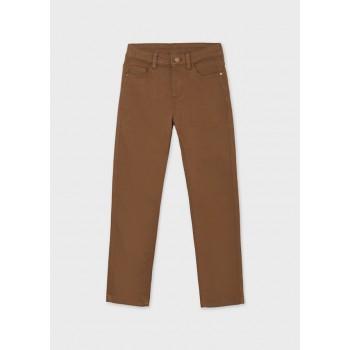 Pantalon de toile marron