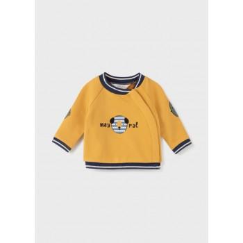 Sweat moutarde bébé