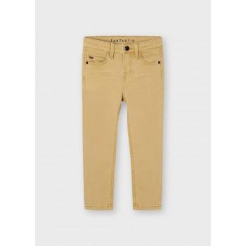 Pantalon de toile camel