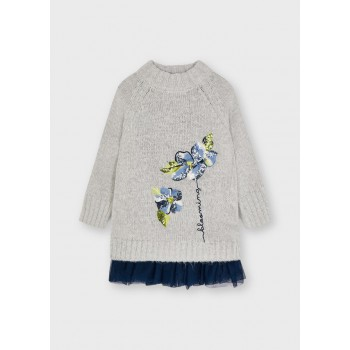 Robe tricot fille