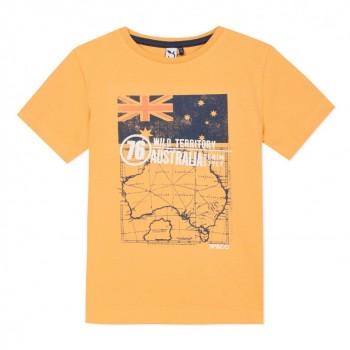 Tee Shirt Jaune Orange