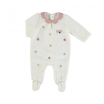 Pyjama Bébé Fille Broderie...