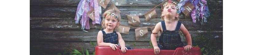 Jojo&Co : Vêtement enfant fille ensemble et salopette - Antibes